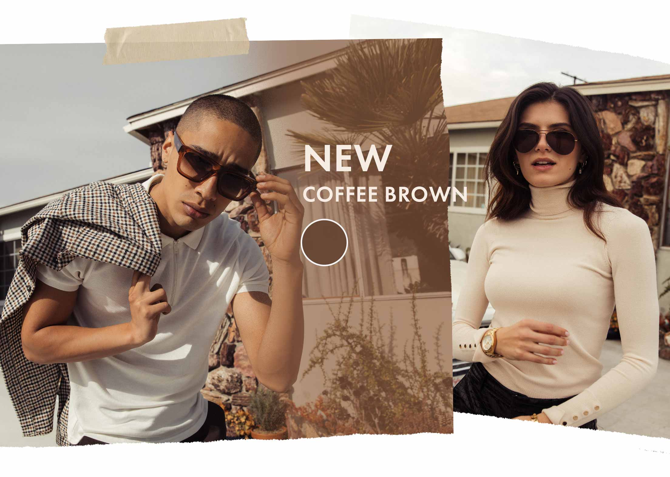 New: Coffee Brown