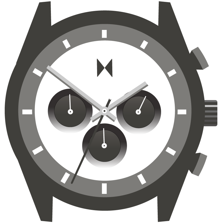 Element Chrono watch illustration