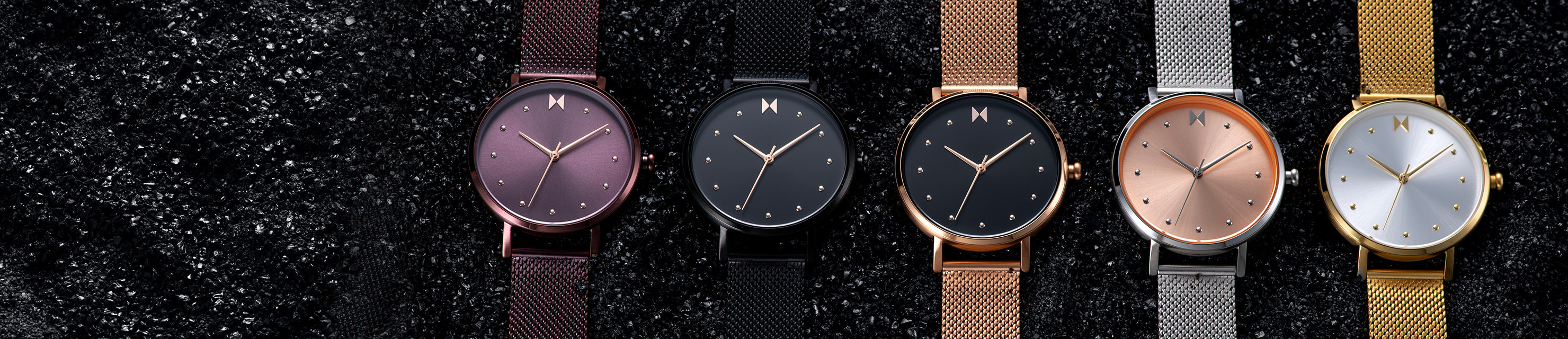 Womens Dot Watches Hero Banner