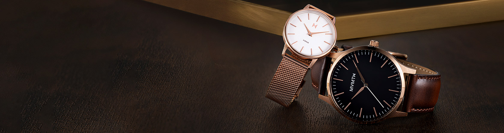 Rose Gold Watches Hero Banner