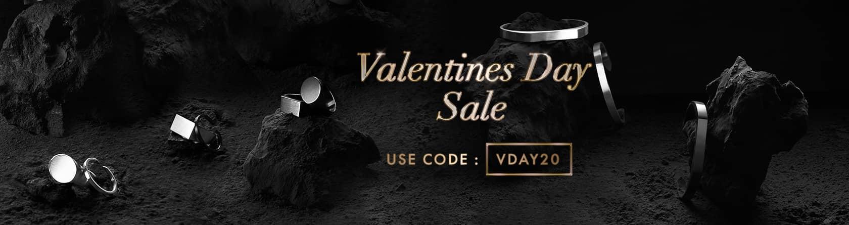 Valentine's Day Sale: Use Code: VDAY20